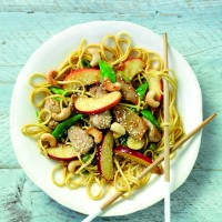 Royal Gala Apple, Pork and Cashew Nut Stir-fry