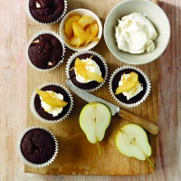 South African Pear & Gingerbread Muffins