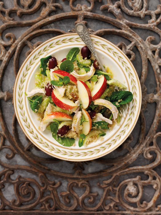 South African Apple Chicken And Quinoa Salad Beautiful Country Beautiful Fruit