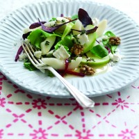 Summer apple & pear salad