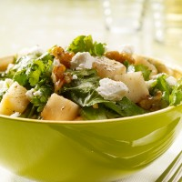 Walnut, Pear and Goat's Cheese Salad