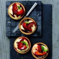 Plum Beautiful Cheesecake Tarts