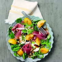 Songold plum parma salad