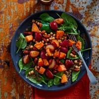 Plum-salad